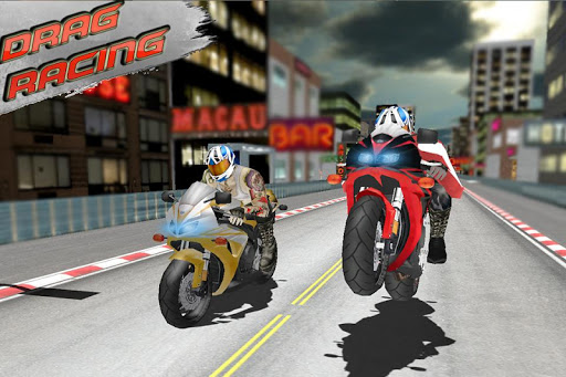 Bikes Drag Race 3D