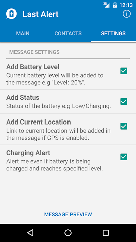 android Last Alert Screenshot 5