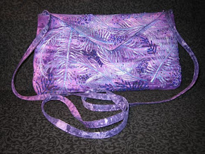 "Photo: ""Purple Evening Bag"" by Susan Brubaker Knapp www.bluemoonriver.com"