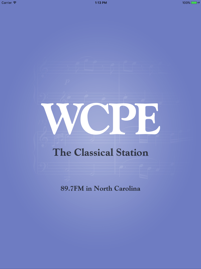 WCPE The Classical Station App- screenshot