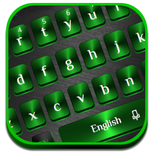 Green Black Metal Keyboard Android APK Download Free By Powerful Phone