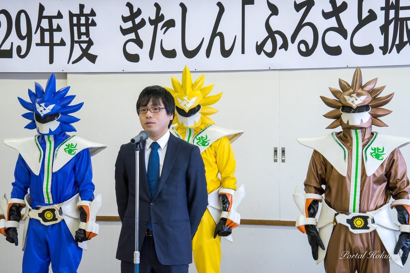 受賞者代表挨拶:チームノースドラゴン・三原淳平 代表