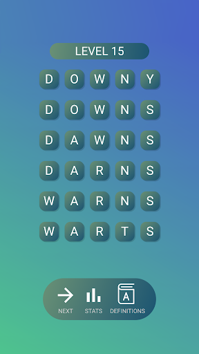 Word Ladders - Cool Words Game, Solve Word Puzzle  screenshots 1