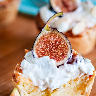 Mini Almond Tarts with Figs