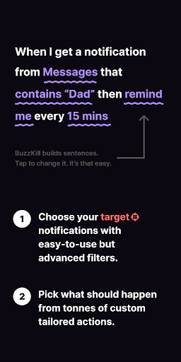 BuzzKill - Notification Superpowers cheat hacks