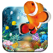 Acquarium 3D live wallpaper free ocean, sea &fish