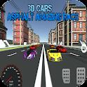 3D Cars : Asphalt Amazing Race icon