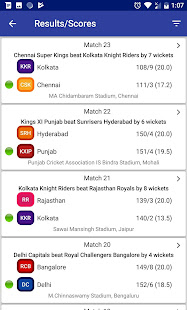 Download Indian T20 League 2019 -Time Table Live Score For PC Windows and Mac apk screenshot 2