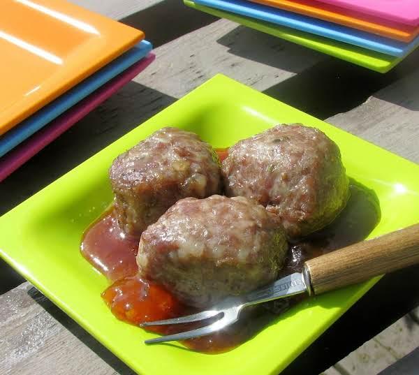 Manhattan Appetizer Meatballs