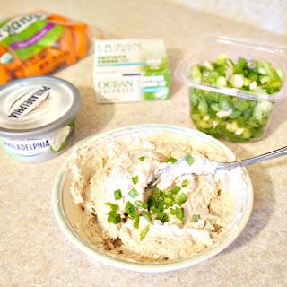 Fat-Free Tuna Dip Recipe with Ocean Naturals Skipjack Tuna