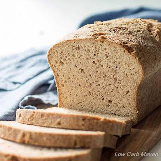 The Best Low Carb Keto Psyllium-Flax Bread.