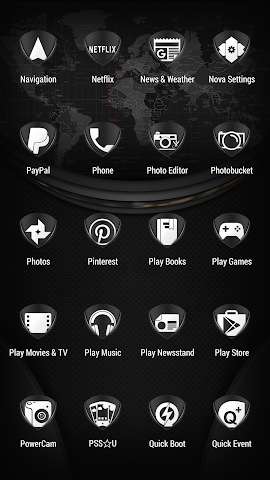 android Tuck It W - Icon Pack Screenshot 4