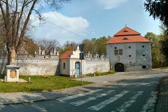 Photo: muzeum, kaple z roku 1756, a zbytky obvodové zdi s renesanční sgrafitovou ozdobou