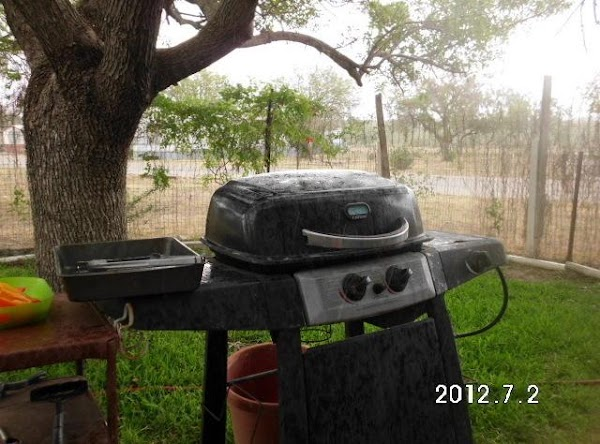 I turned one side of my grill on and left the other off. ...