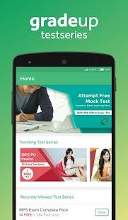 Online Mock Test Series App - náhled
