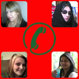 Single women in video chat
