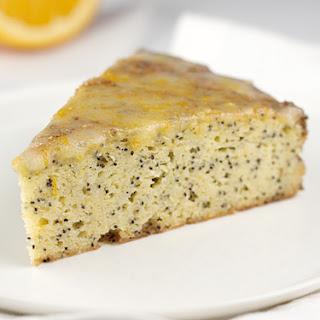 Gluten Free, Sugar Free Orange Poppyseed Cake.
