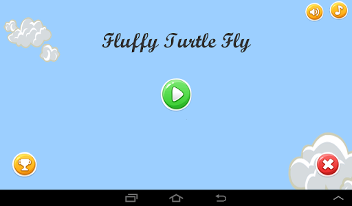 Fluffy Turtle Fly Free