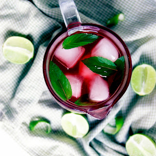 Hibiscus and Lime Iced Tea Recipe