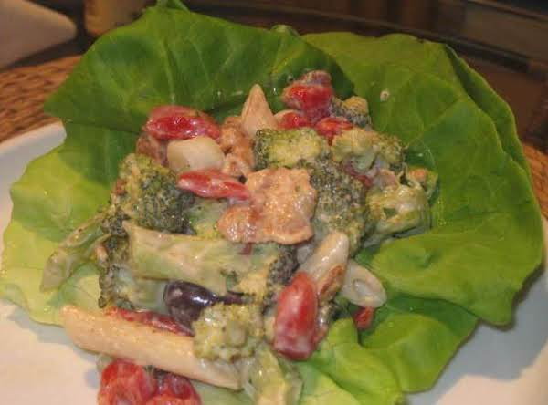 Tangy Broccoli Pasta Salad