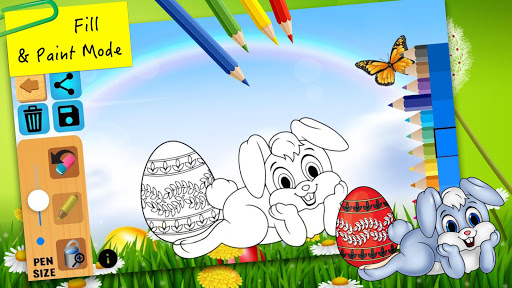 Easter bunny egg coloring book 1.06 screenshots 2