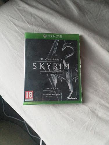 Caso de jogo do Xbox One Skyrim
