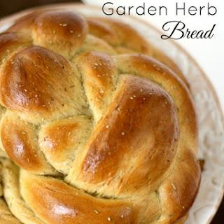 Braided Garden Herb Bread