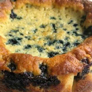 Blueberry Yogurt Morning Cake.