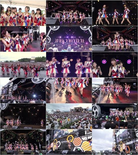 (TV-Music)(1080i) HKT48 Part – イナズマロック フェス 2016 Day2 161106