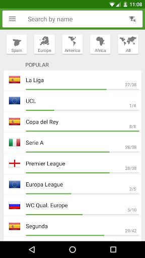 BeSoccer - Soccer Live Score  screenshots 4