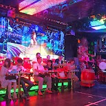 audience at the Robot Restaurant in Kabukicho in Kabukicho, Tokyo, Japan