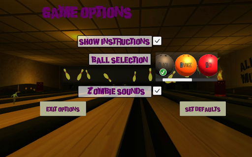 10 Zombie Bowling screenshots 17