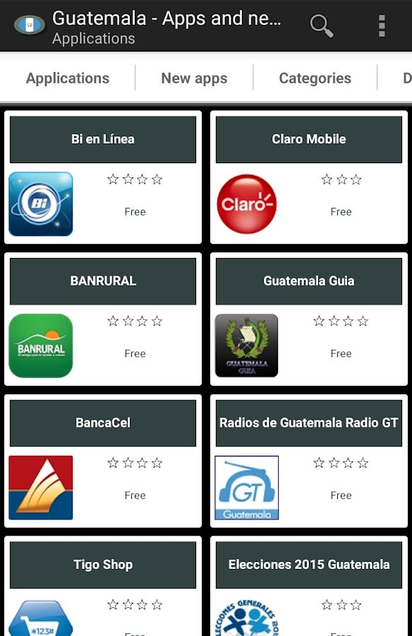 Guatemalan apps and tech news