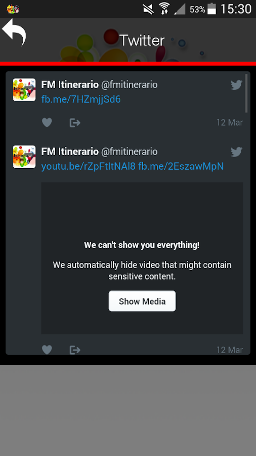 FM ITINERARIO 95.9- screenshot