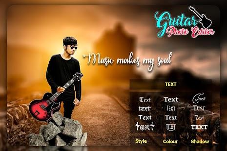 Guitar Photo Editor - náhled