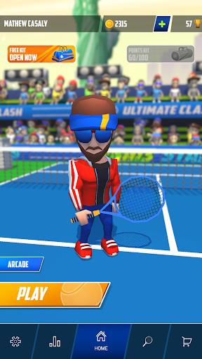 Tennis Stars: Ultimate Clash mod apk Varies with device screenshots 2