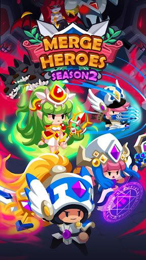 Merge Heroes Frontier: Casual RPG Online  captures d'u00e9cran 1