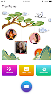 Photo frame – tree photo frame 4