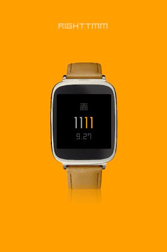 RIGHTTMM - Wear watch face image | 3