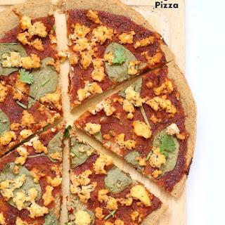 Gluten free Yeast free Vegan Pizza Crust