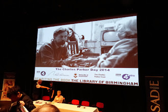 Photo: Charles Parker Day 2014, the speakers prepare
