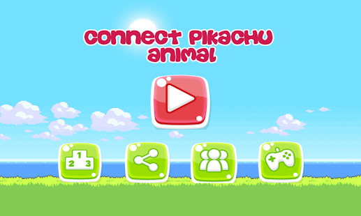 Pikachu Connect Animal HD - náhled