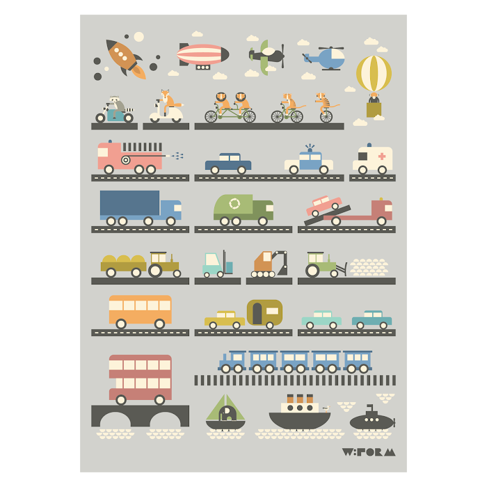 W:FORM Poster VEHICLES
