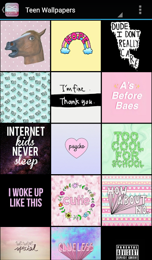 Teen Wallpapers screenshot