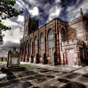 St georges church Liverpool by Derek Tomkins - Buildings & Architecture Public & Historical ( pwcdetails )