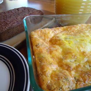 Easy Breakfast Casserole.
