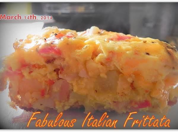 Fabulous Italian Fritatta Recipe
