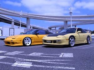 180SX RPS13のカスタム事例画像 新潟まっつ〜Class of Yellow-黄組さんの2020年07月20日21:32の投稿