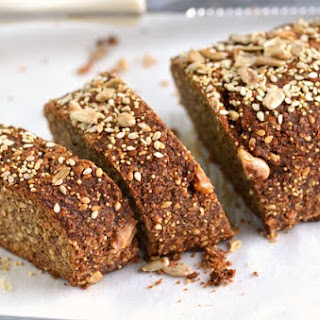 Sprouted Multiseed Banana Loaf