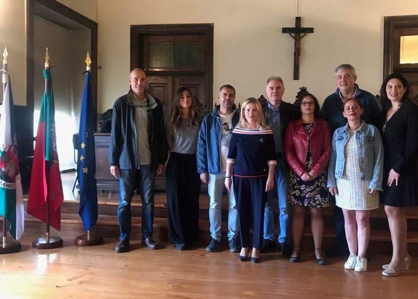 Docentes de Erasmus recebidos nos Paços do Concelho